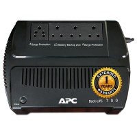 APC Back UPS 700 VA with 1 Year Extended Warranty